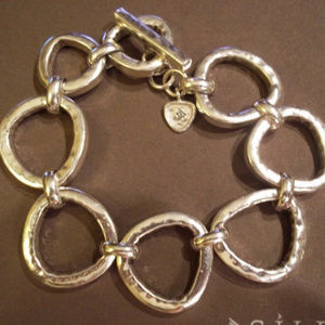B2709 Silpada RUSH Sterling Silver Bracelet